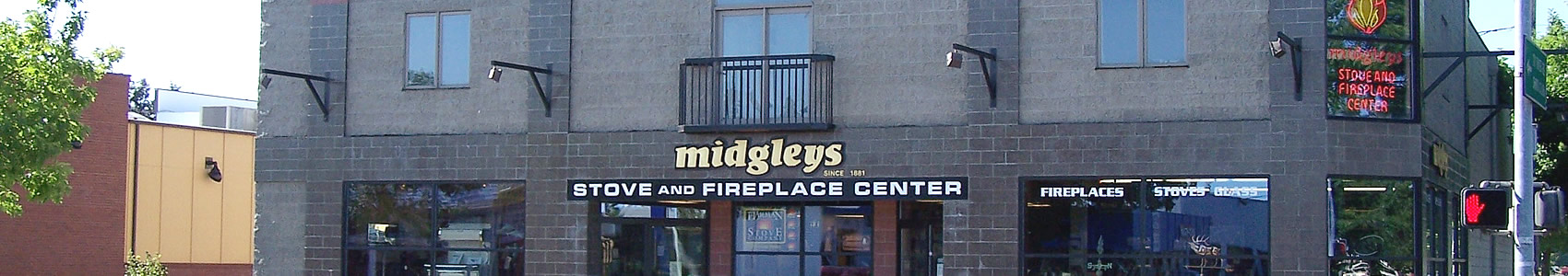 front of midgleys building